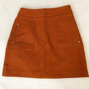 H&M Burnt Orange Skirt